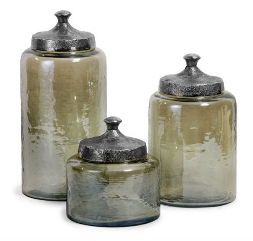 decorative kitchen canisters and jars kitchen canisters with windows set of 4 stainless steel