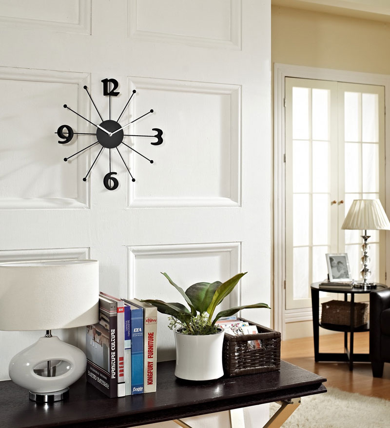 wall clocks decorative in interior