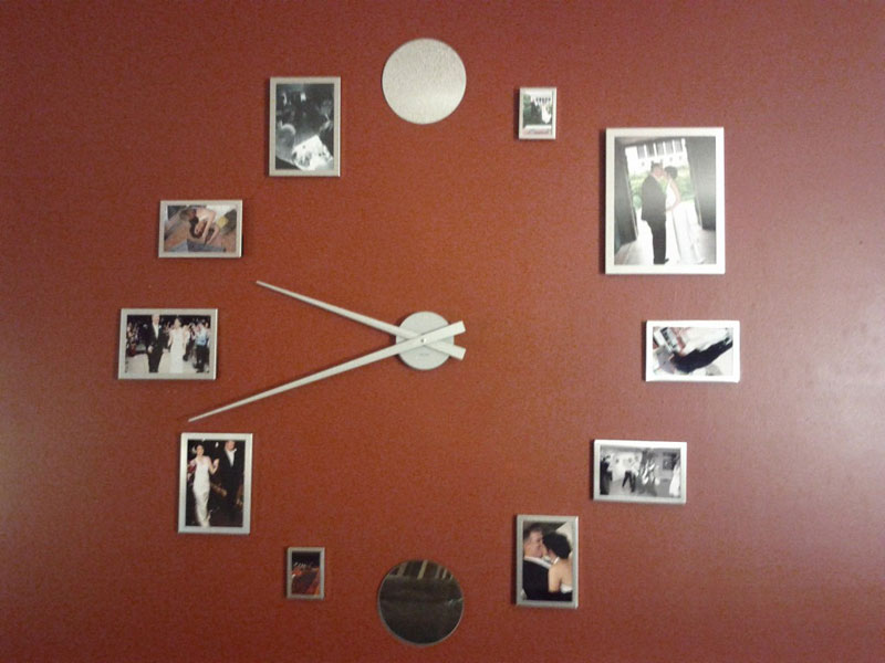 40 attractive decorative wall clocks for home interior - Wall picture clock decoration ...