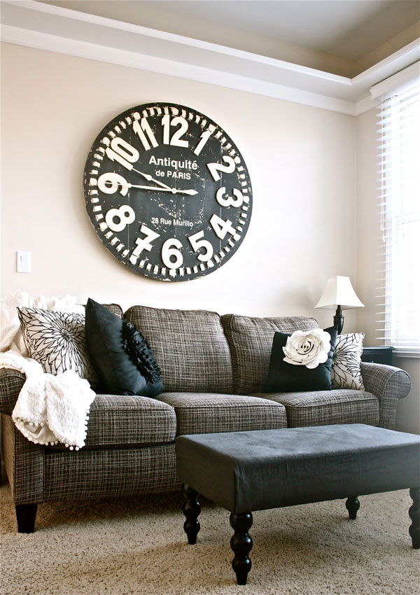 40 Attractive Decorative Wall Clocks for Home Interior
