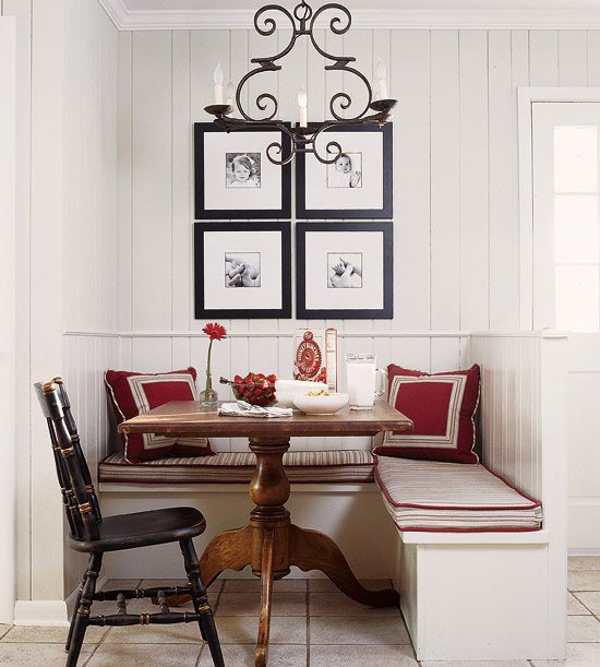 Kitchen Corner Seating Ideas