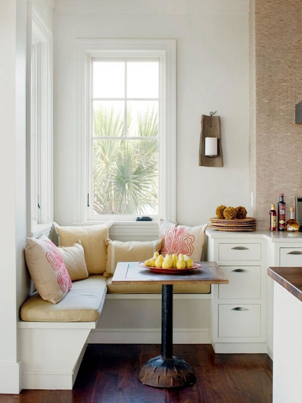 corner seating kitchen ideas