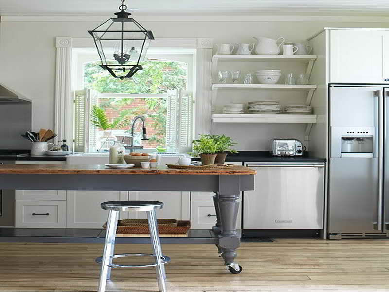 55 open kitchen shelving ideas in combination with open and closed