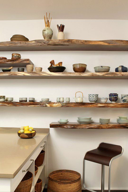 Http 4betterhome Com Open Kitchen Shelving Ideas