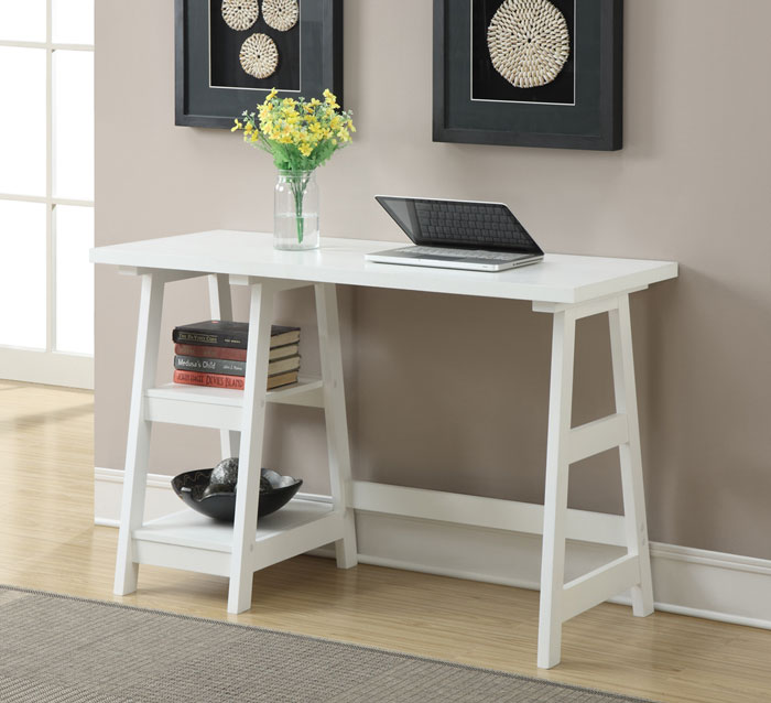 30 small home office desk solutions for functional working for Home office desks for small spaces