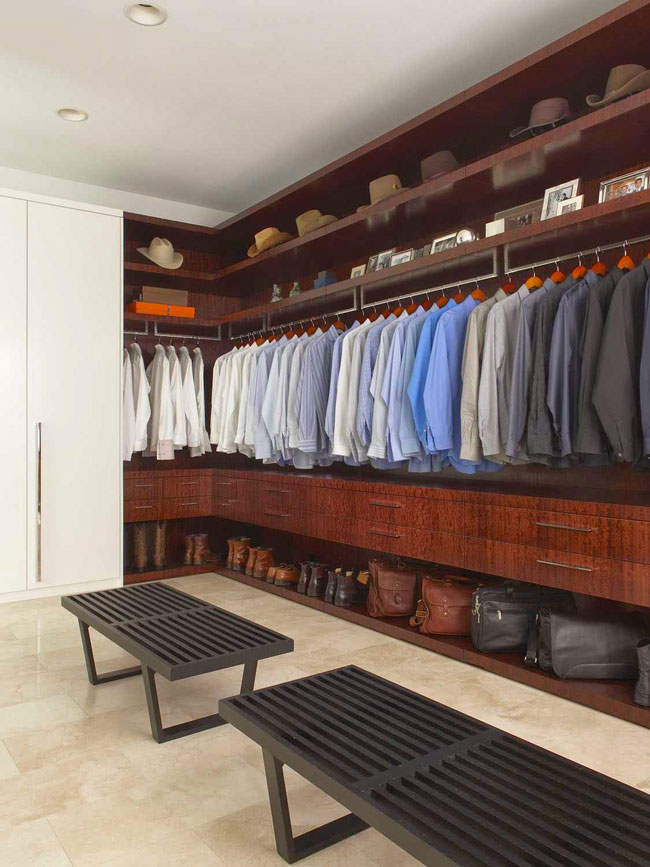 storage and closet design ideas for men