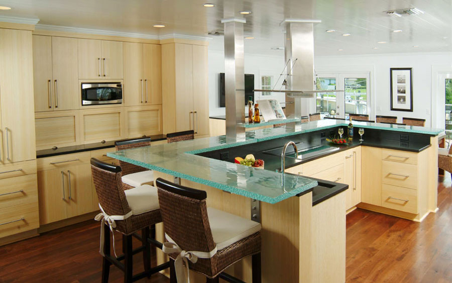 design ideas for u shaped kitchens