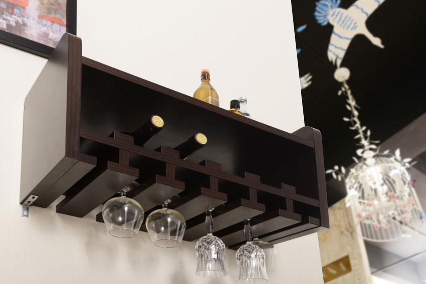 wine rack wall mount