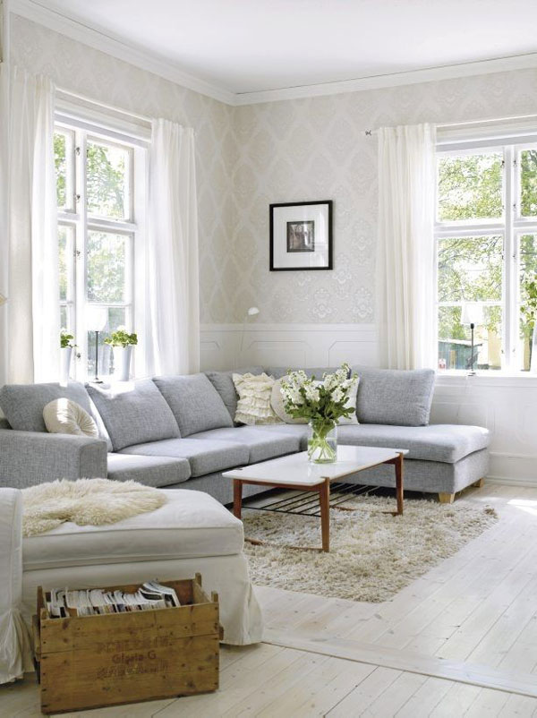 36 light cream and beige living room design ideas - Idee deco salon beige ...