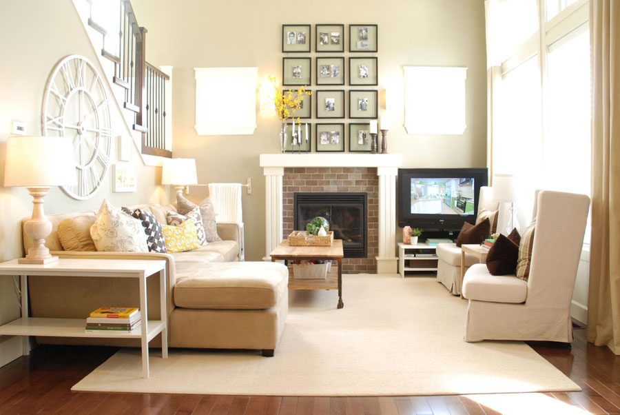 36 light cream and beige living room design ideas How long does it take to paint a living room