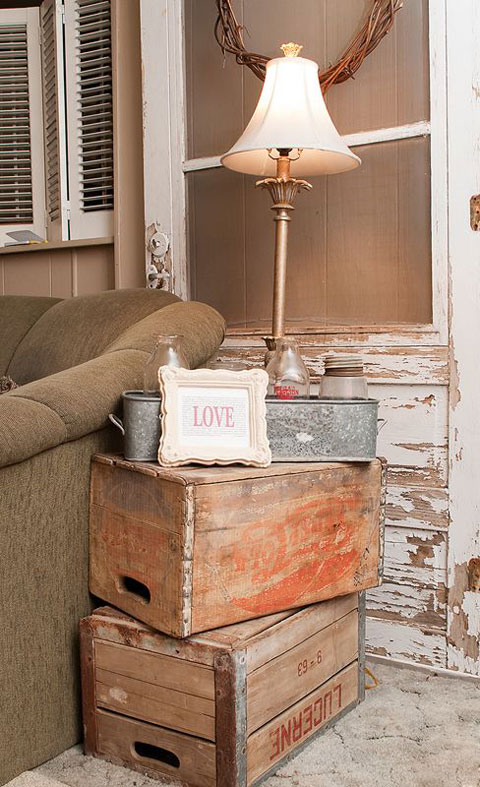 storage boxes decorative
