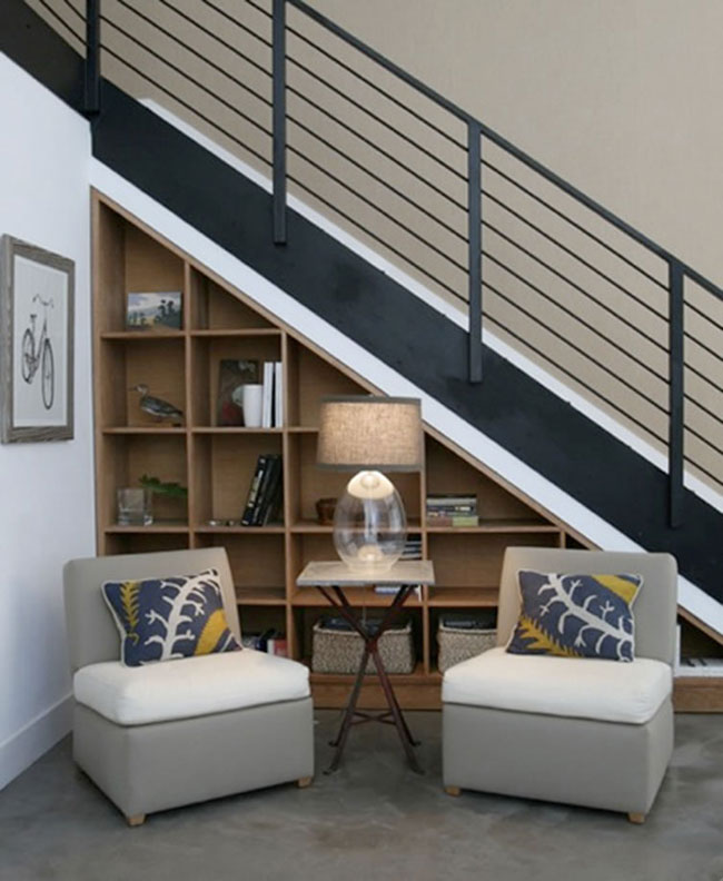 Creative Staircase Design Ideas: 37 Functional And Creative Under Stair Storage Ideas