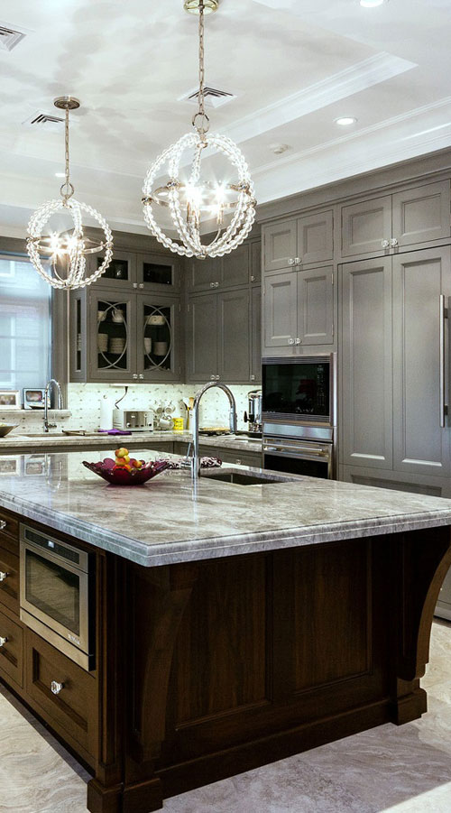 46 Creative And Elegant Hanging Kitchen Island Lights