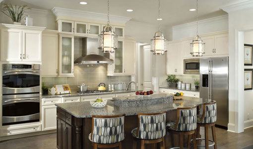 45 Creative and Elegant Hanging Kitchen Island Lights in Classic Style