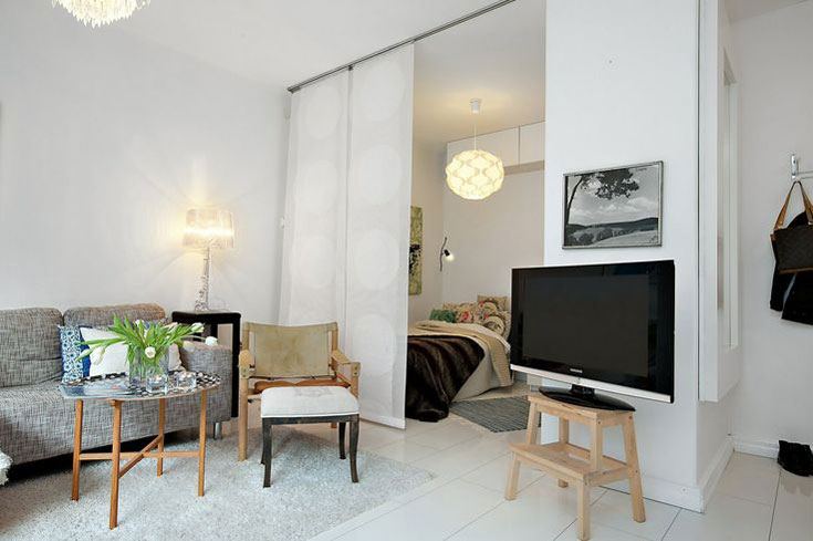 Small Studio Apartment. Apartment Studio Design