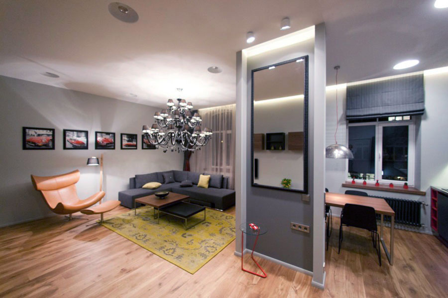 27 amazing small studio apartment design ideas for Small apartment layout ideas