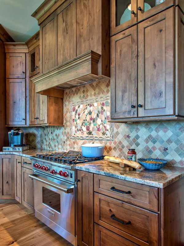 Would You Use Heavy Or Light Mineral For A Kitchen : 51 Warm Wooden Kitchen Designs in Modern, Classic Style