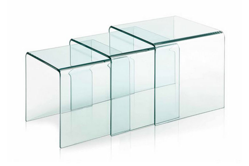 20 Clear Coffee Table Solutions Made From Glass And Acryl