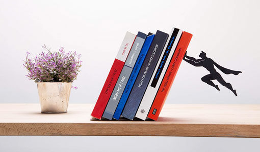Unique Bookshelves 30 functional, unique bookshelves and book holders