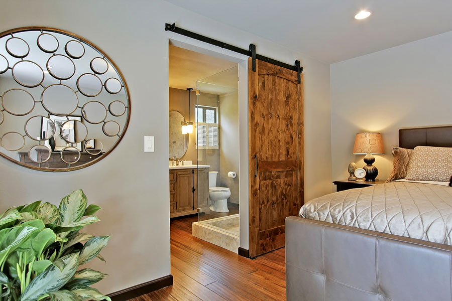 barn style door for bedroom