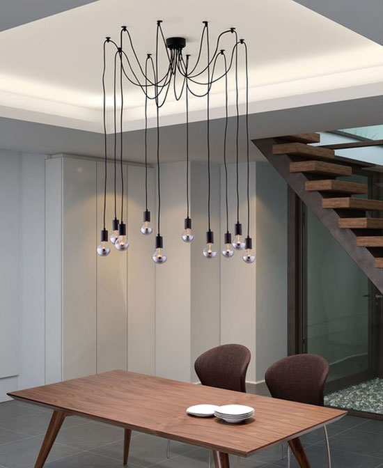 Creative Ideas How To Hang Pendant Light Bulbs