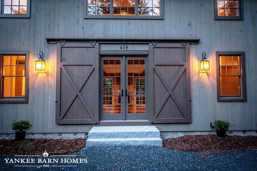 double outdoor barn doors