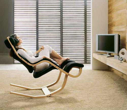 Eco Friendly Relaxation Lounge Chair by Varier