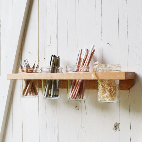 reclaimed wall caddy