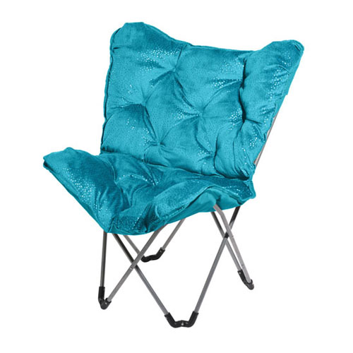 Sparkle Turquoise Side Chair for Girl