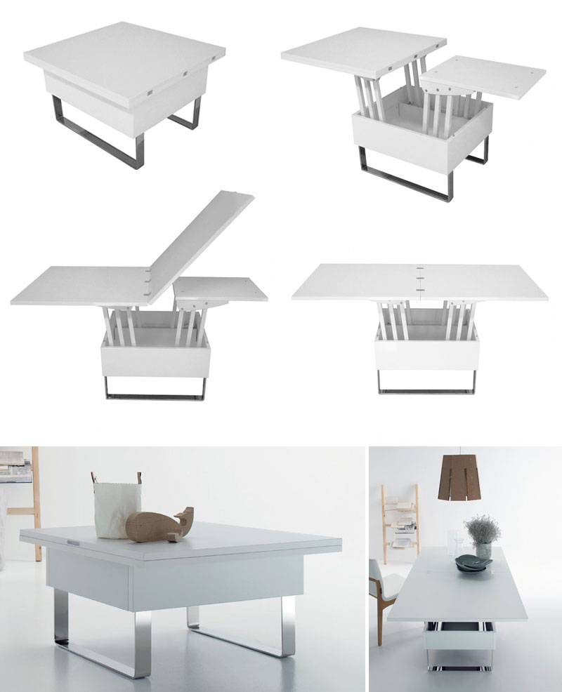 multipurpose coffee dining table