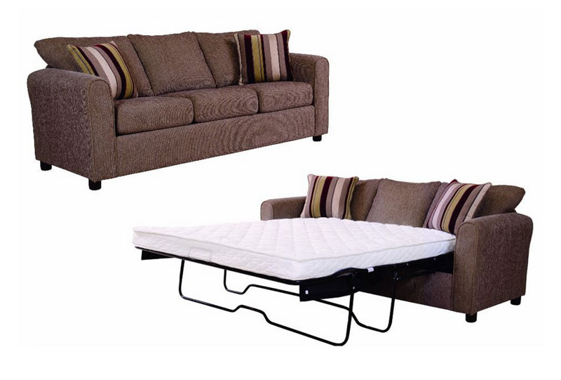 Small Sleeper Sofa With High Density Rocker Cams By Serta Upholstery