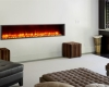 built-in led fireplace