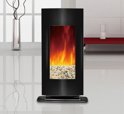 ... free standing electric stove fireplaces; 6 electric fireplace solutions  with realistic flame effect ... - Free Standing Electric Fireplaces - Fireplace Ideas