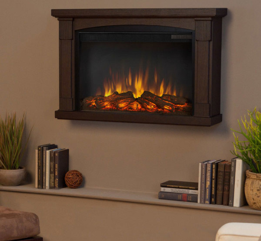 6 Electric Fireplace Solutions With Realistic Flame Effect