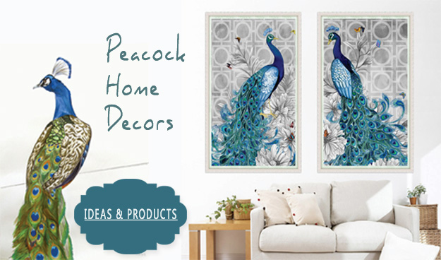 peacock home decors