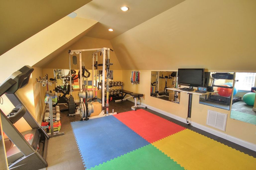 dream gym home ideas