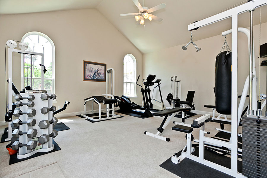 smart design ideas to create your dream home gym. Black Bedroom Furniture Sets. Home Design Ideas
