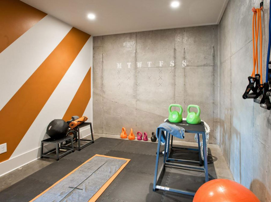 Smart Design Ideas To Create Your Dream Home Gym - Home gym design ideas
