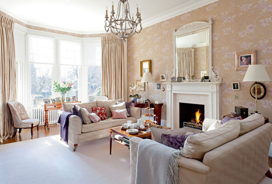 Classic Interior Design Inspiration for Living Room