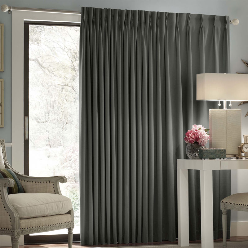 18 Beautiful Curtains For Sliding Glass Door