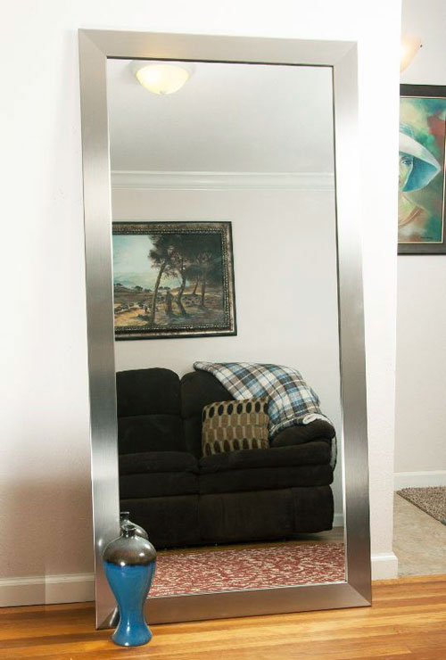 24 Stylish Full Length Floor Mirrors For Small Bedroom