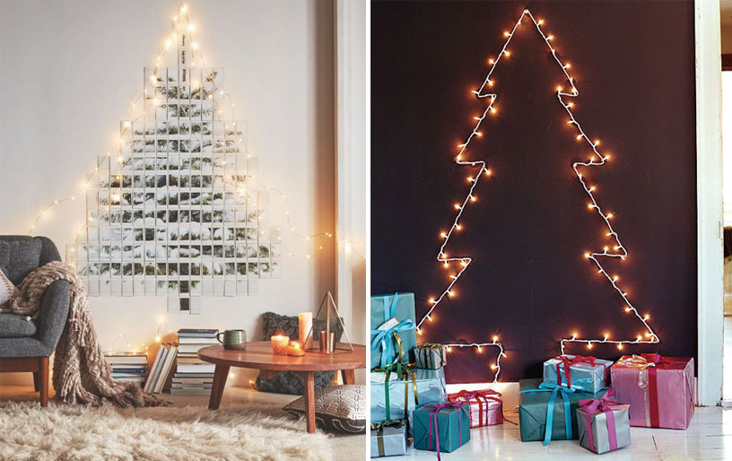 7 Alternative Christmas Trees For Tiny Homes