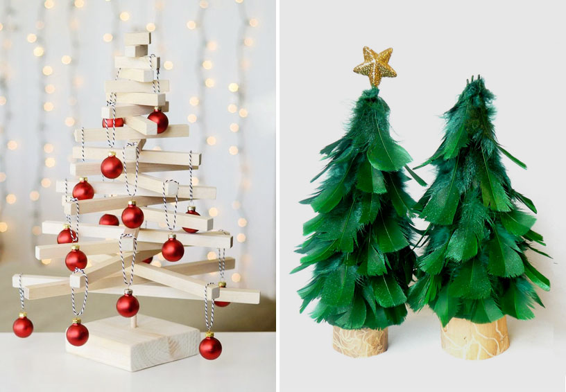 7 alternative christmas trees for tiny homes 4betterhome christmas tree solutioingenieria Image collections