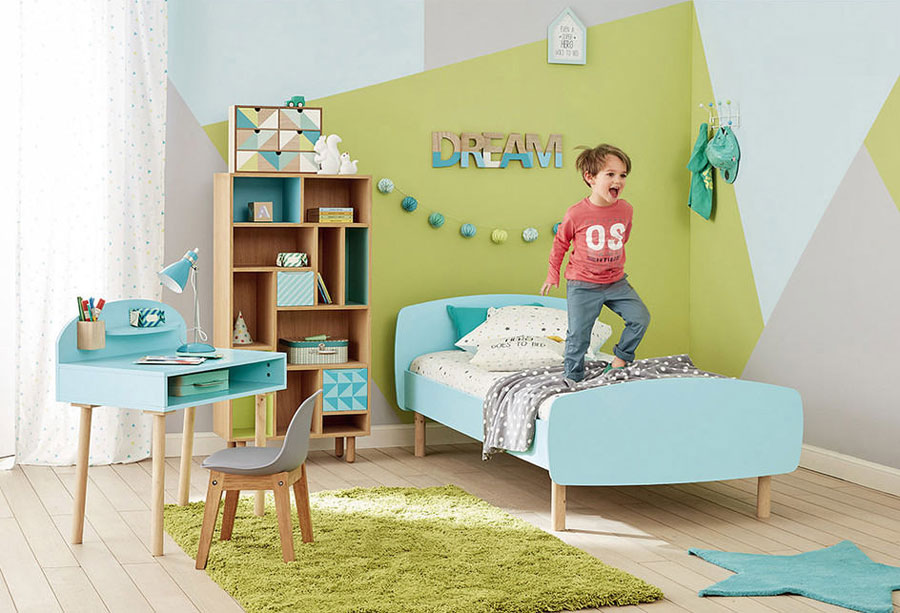 green childrens room