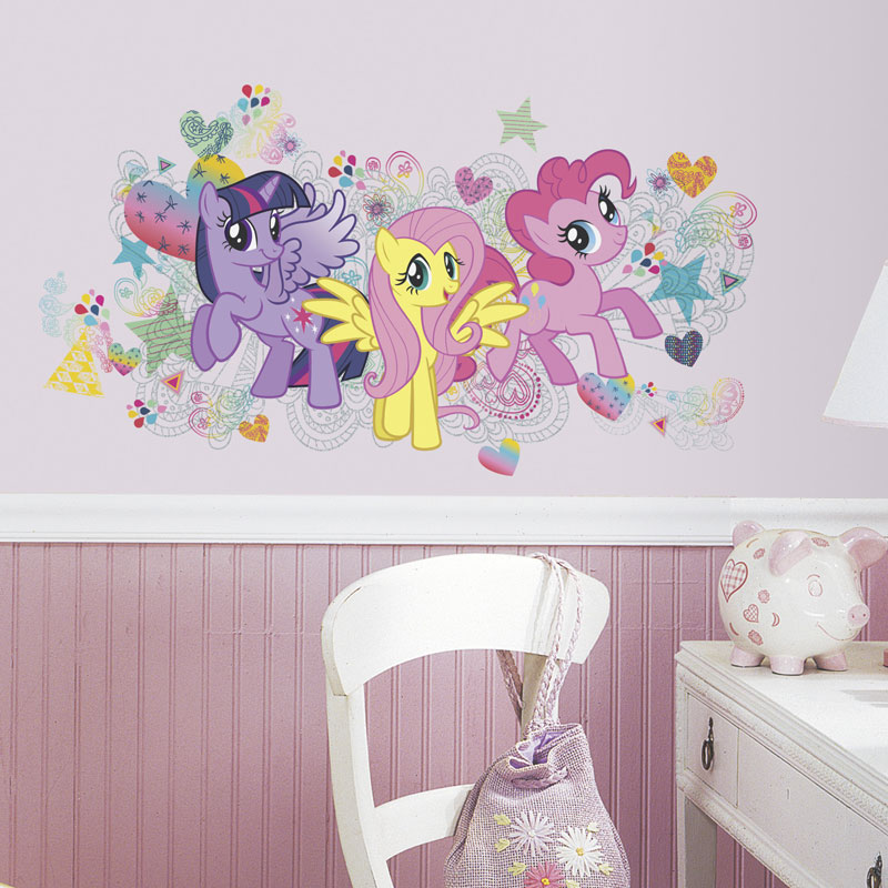 pony wall decals