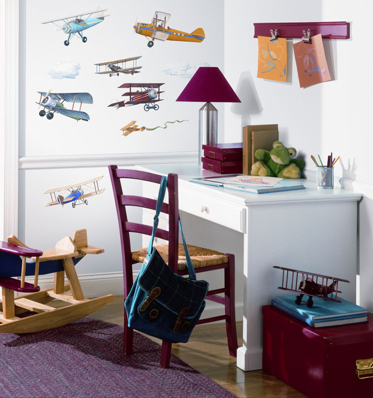 planes wall decals