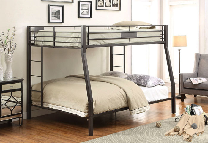 Queen Beds Metal Wood And Metal Bunk Bed Queen Over Queen: All You Need To Know About Queen Bunk Beds