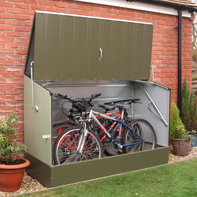 Top 10 Compact Outdoor Bike Storage Solutions 4betterhome