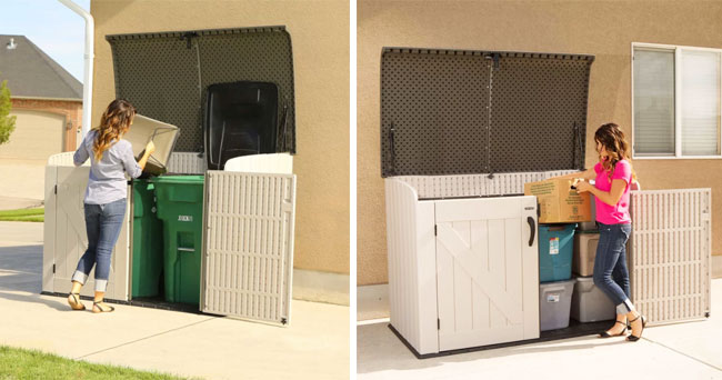 multi-functional storage shed