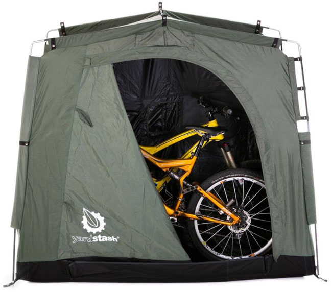 portable plastic outdoor bike storage
